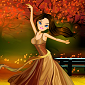 Dancing Autumn Princess