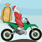 Santa onMotorbike