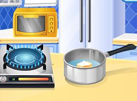 Sara's Cooking Class — IceCream Puffs