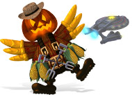 Вторжение кур5. Темный клюв. Halloween Edition